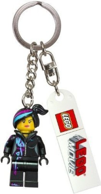 Lego The Movie Wyldstyle Key Chain(Multicolor)