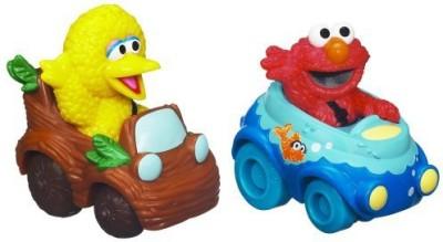 Sesame Street Street Elmo and Big Bird Playskool Racers