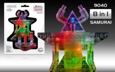 Laser Pegs 8In1 Samurai Building Set