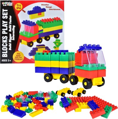 Kreative Kids Blocks Play Set - Education Through Entertainment