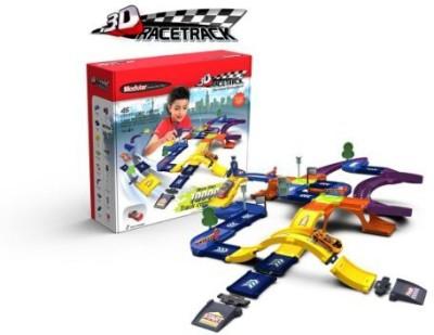 Modular 3D Construction Race Track Kit