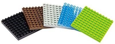 KAWADA_Nanoblock Nano Nb008 Plate Set
