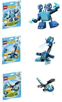 Lego Mixels Series 2 Bundle Set Of Frosticonsslumbo