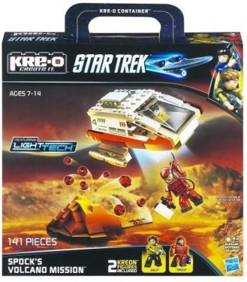 KRE-O Star Trek Spock,S Volcano Mission Construction Set (A3139)