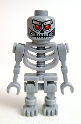 Lego The Movie Loose Skeletron Mini [Includes Weapon](Grey)