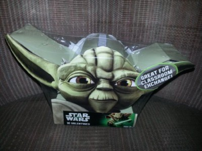 Paper Magic 2013 Valentines Day Cards 16 Pack Yoda (Star Wars) Group