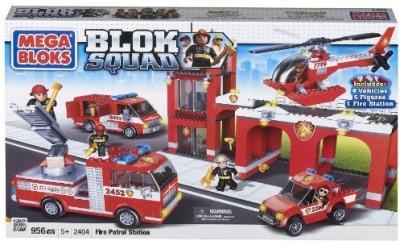 Mega Bloks Squad Fire Patrol Station