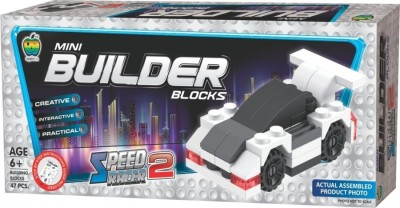 Lotus Mini Builder Blocks Speed Racer 2(Multicolor)