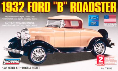 Lindberg USA 1/32 Scale 1932 Ford