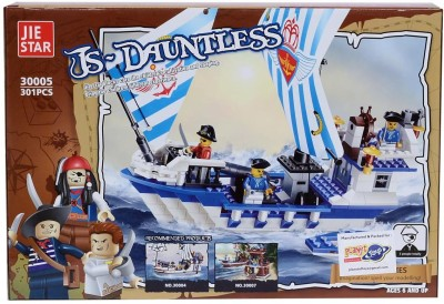 Planet of Toys Js-Dauntless Building Blocks Set (301 Pcs)