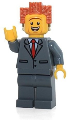 Lego The Movie President Business Mini With Dualsided Face(Multicolor)