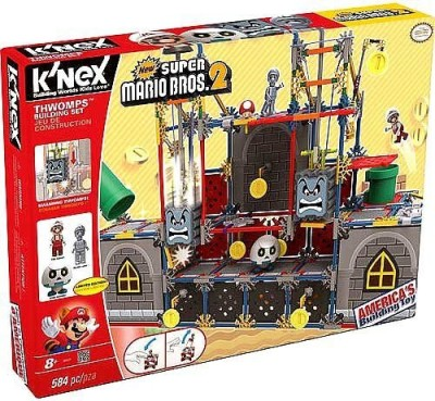 K,Nex Knex Super Mario Thwomps Building Set