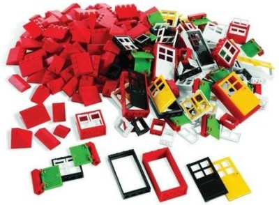 Lego Doorswindows & Roof Tiles Set