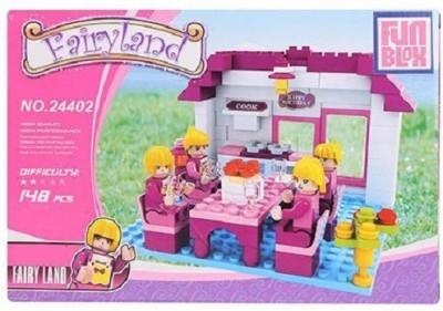 Fun Blox Fairy Land Dining Set - 148 Pieces
