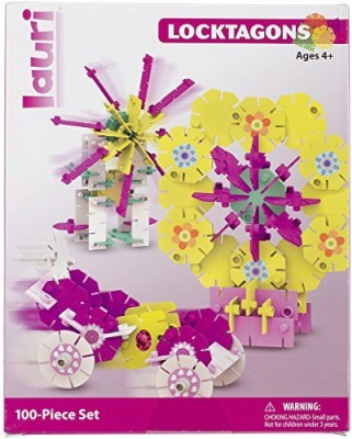 Lauri S Girl Set Locktagons 100Piece