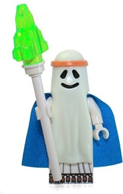 Lego The Movie Glowinthedark Ghost Vitruvius Mini With Staff(Multicolor)
