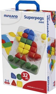 Miniland Superpegs Mini 32pcs
