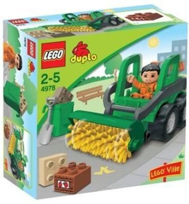 Duplo Lego Road Sweeper Set 4978