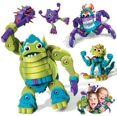 Bloco Toys inc. Blocoogre And Monsters Building Kit