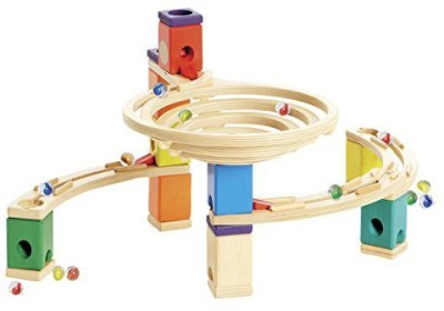 Hape Quadrilla - Round About - Marble Railway in Wood