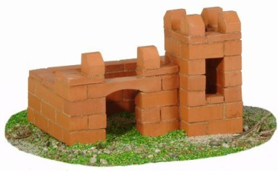 Teifoc Castle Brick Construction Set 81 Pc