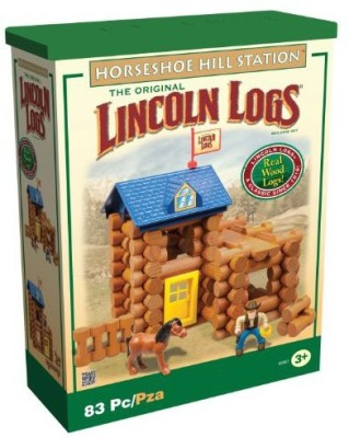 Lincoln Logs Lincoln Log Horseshoe Hill Station