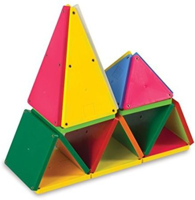 Magna Tiles Magnatiles 02300 Solid Colors 100 Piece Set