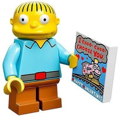 The Simpsons Lego 71005 The Simpson Series Ralph Wiggum Simpson