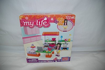 Mega Bloks My Life As Cupcake Bakery Megabuilding Set