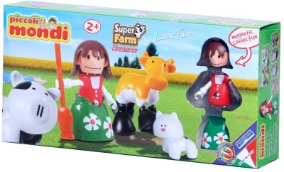 Plastwood Piccoli Mondi Super Farm Lady Farm