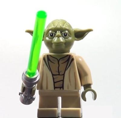 Lego Yoda Star Wars Mini Yoda Chronicles Clone Wars 75017