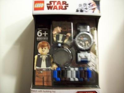 Clic Time Lego Star Wars Han Solo With Wristwatch