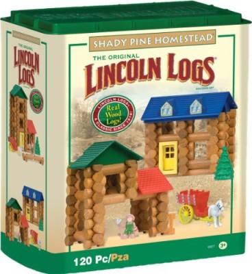 Lincoln Logs Shady Pine Homestead 120 Pc