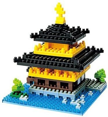 kawad A Nbh011 Nano Building Set Kinkakuji Japanese Temple