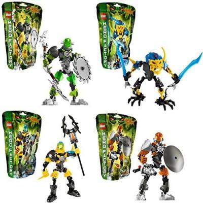 Lego Hero Factory Bulk 44004Breez 4400644012 Evo & Aquagon