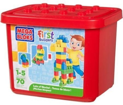Mega Brands Mega Bloks First Builders Lots Of Bloks Building