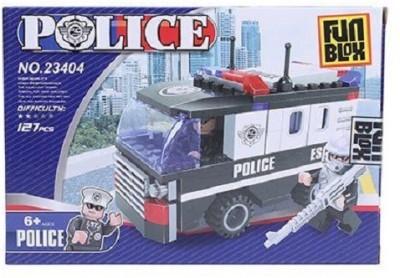 Fun Blox Police Block Set - 127 Pieces