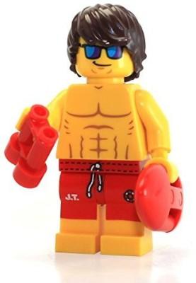 Lego Series 12 Collectible Mini 71007 Lifeguard Guy