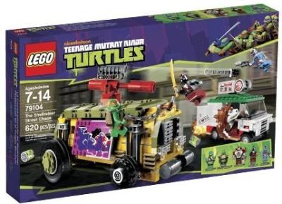 Teenage Mutant Ninja Turtles Lego The Shellraiser Street Chase