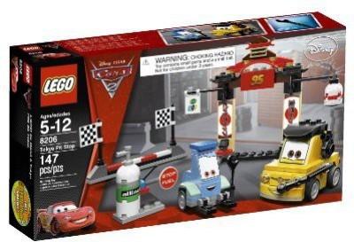 Lego Cars Tokyo Pit Stop 8206(Multicolor)