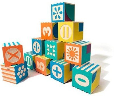 Uncle Goose Groovie Math and Patterning Blocks - Made in USA