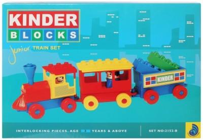 Peacock Kinder Blocks-Junior Train Set