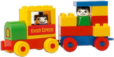 Peacock Kinder Blocks-Locomotive Set