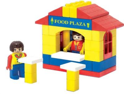 Peacock Kinder Blocks-Food Plaza