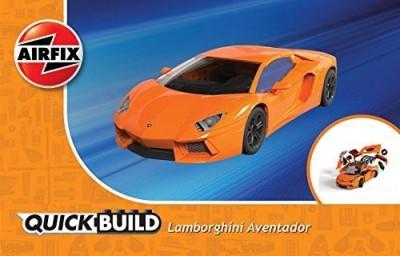 Airfix Quickbuild Lamborghini Aventador LP700-4 Plastic Model Kit(Multicolor)