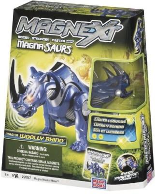 Mega Brands Mega Bloks Magnext Magna Saurs Wooly Rhino