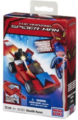 Mega Bloks Stealth Spiderman Pocket Racer