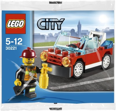 Lego Lego City Fire Car