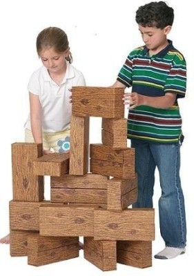 Smart Monkey Toys Giant Timber(16 Pieces)