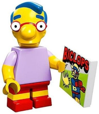 The Simpsons Lego 71005 The Simpson Series Milhouse Simpson Character
